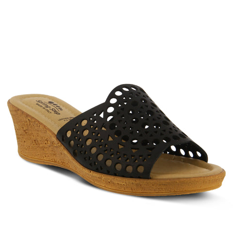 Spring Step Women's Martha Slide Sandal Black