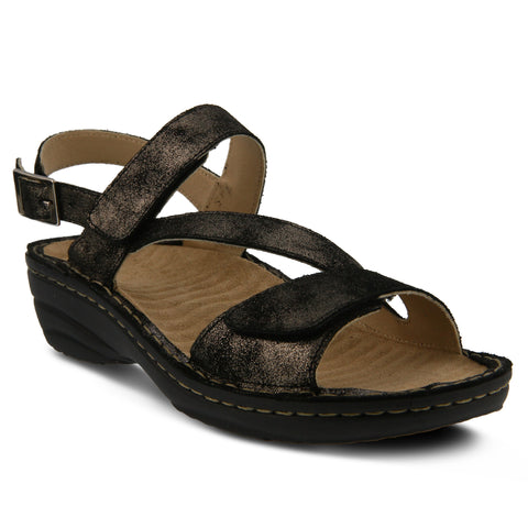 Spring Step Women's Maryjo Sandal Black
