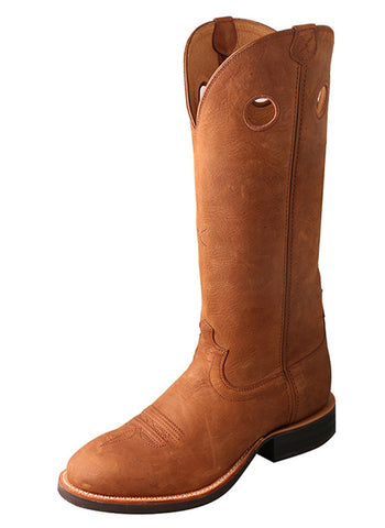 Twisted X Men's Buckaroo Boot Oiled Saddle/Oiled Saddle