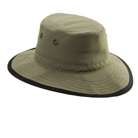 Dorfman Pacific Men's Supplex Dimensional Brim Hats Fossil