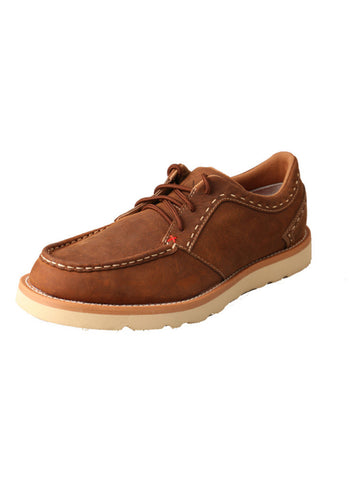 Twisted X Men's Casual Shoe Oiled Saddle