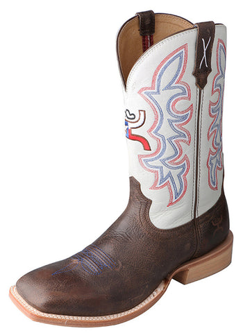 Twisted X Men's Hooey Boot Brown/White