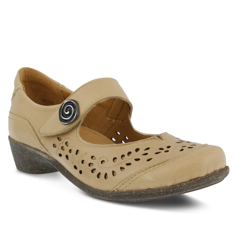 Spring Step Women's Music Mary Jane Shoe Natural