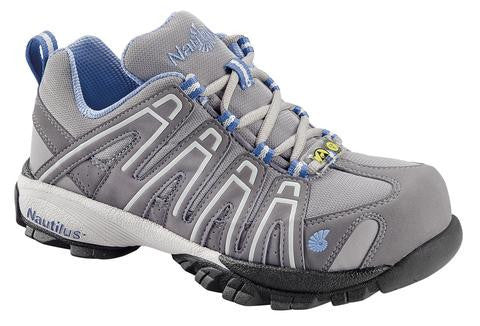 Nautilus 1391 Women's ESD Comp Toe No Exposed Metal Athletic