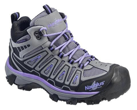 Nautilus 2251 Women's Light Weight Mid Waterproof Safety Toe Hiker