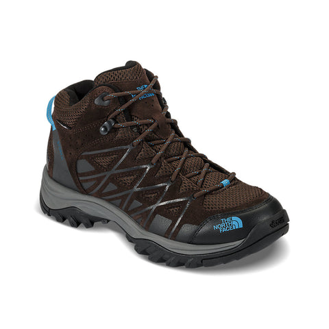 The North Face Men's Storm III Mid Waterproof Demitasse Brown/Hyper Blue