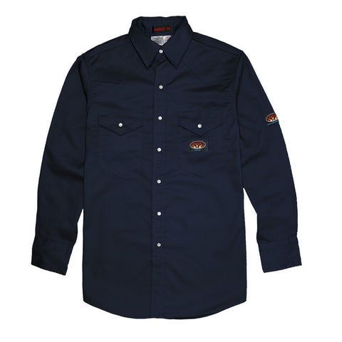 Rasco FR Men's Lightweight Work Shirt Denim