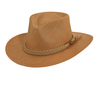 Scala Panama Men's Putty Panama Outback Hats Putty