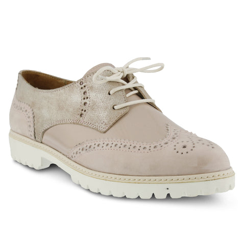 Spring Step Women's Pop Lace-Up Shoe Pink