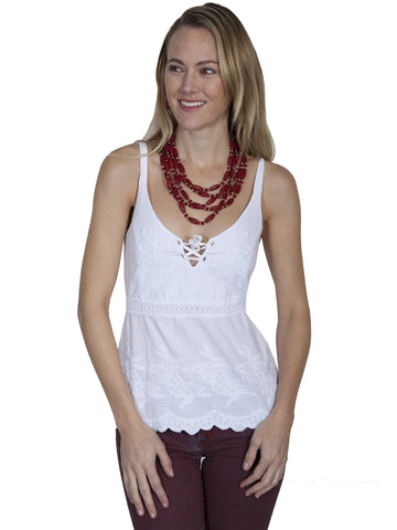 Scully PSL-185 Women's 100% Cotton Halter Top