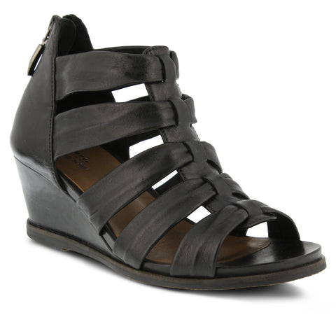 Spring Step Women's Raziya Sandal Black