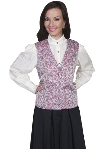 Scully Rose vine vest.
