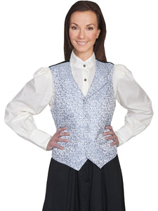 Scully Rose vine vest