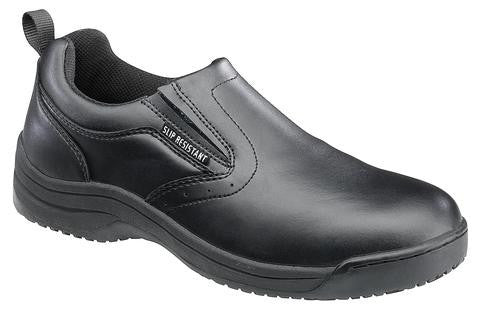 Skidbuster 5072 Men's Leather Slip Resistant Slip On
