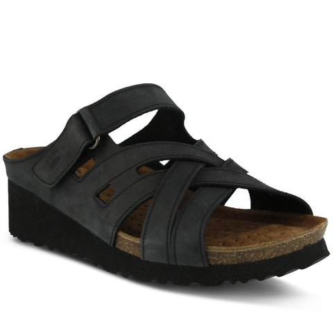 Spring Step Women's Sabra Slide Sandal Black