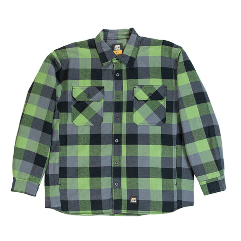 Plaid Green E