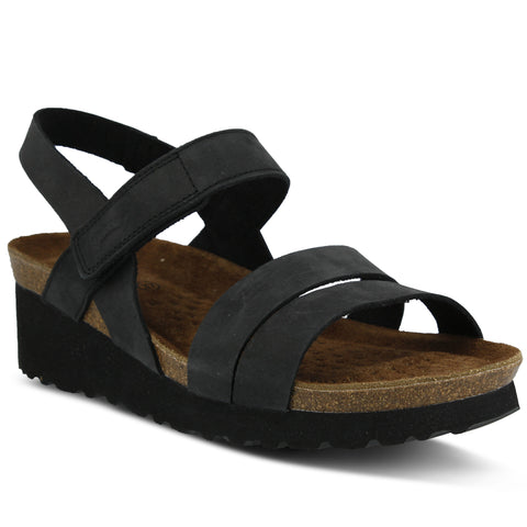 Spring Step Women's Sky Sandal Black