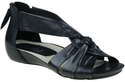 Earthies Women's Sora Sandal Black