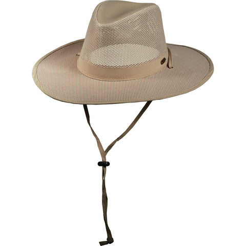 Stetson Outdoor Men's Insect Shield Big Brim Safari Hats Khaki