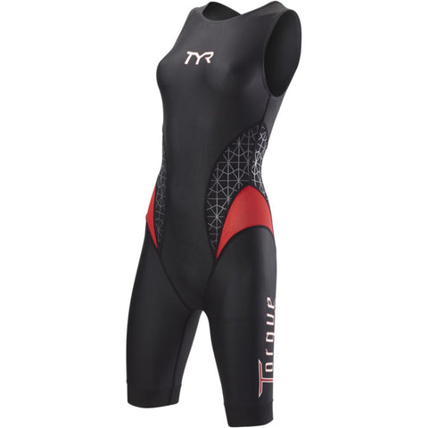 TYR Women's Torque Pro Swimskin Black/Red