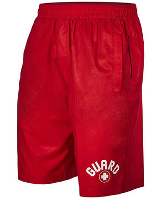TYR Men's Guard Lake Front Land to Water Short Red