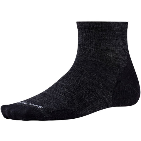 Smartwool Men's PhD® Outdoor Ultra Light Mini Socks Charcoal