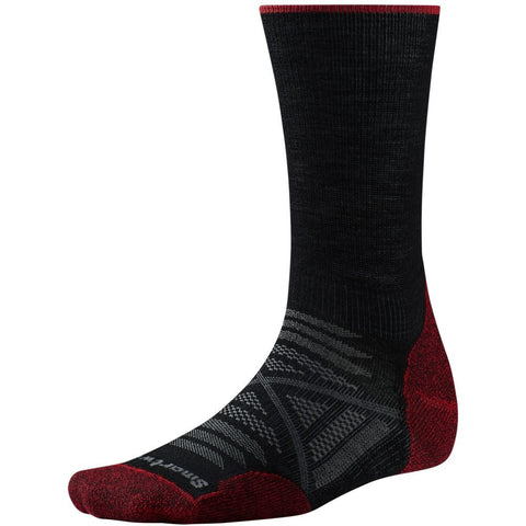 Smartwool Men's PhD® Outdoor Light Crew Socks Black