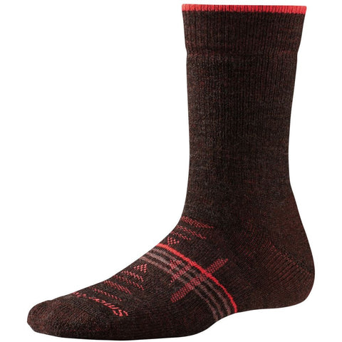 Smartwool Women's PhD® Outdoor Heavy Crew Socks Chestnut