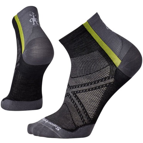 Smartwool Men's PhD® Cycle Ultra Light Mini Socks Black