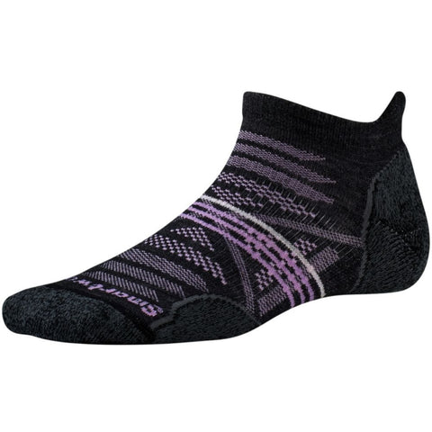 Smartwool Women's PhD® Outdoor Light Micro Socks Charcoal