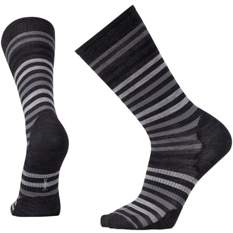 Smartwool Men's Spruce Street Crew Socks Charcoal Heather