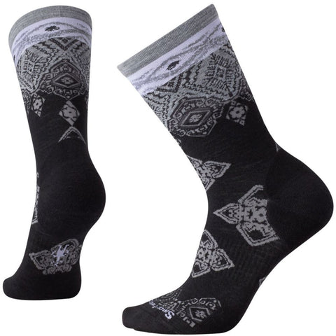 Smartwool Women's Diamond Royale Crew Socks Black