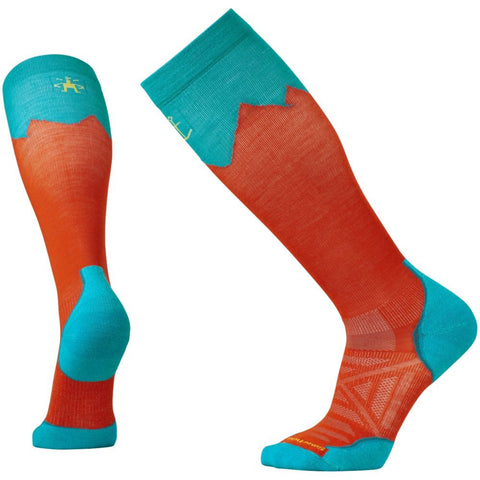 Smartwool PhD® Outdoor Mountaineer Socks Bright Orange