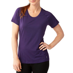 Smartwool Women's Merino 150 Baselayer Short Sleeve Mountain Purple