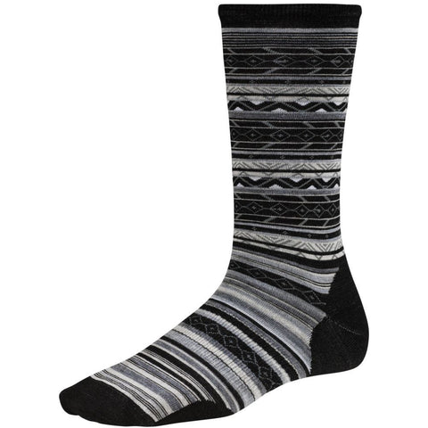 Smartwool Women's Ethno Graphic Crew Socks Black