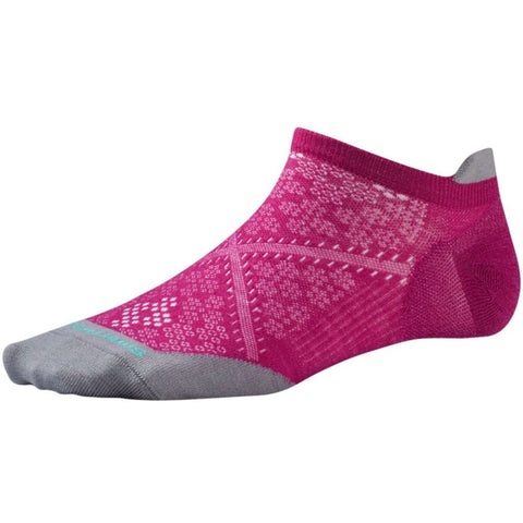 Smartwool Women's PhD® Run Ultra Light Micro Socks Berry