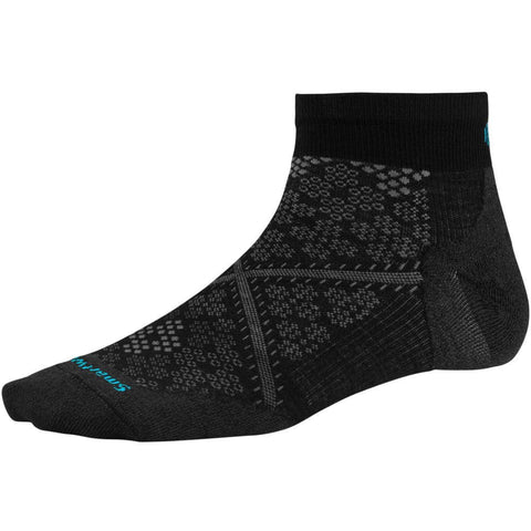 Smartwool Women's PhD® Run Ultra Light Low Cut Socks Black