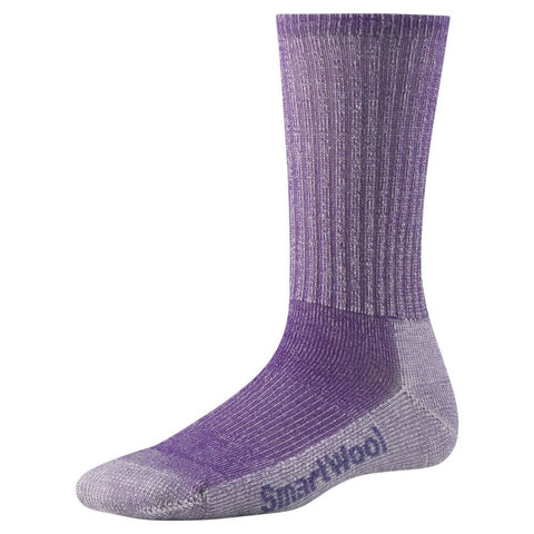 Smartwool Women's Hike Light Crew Socks Grape