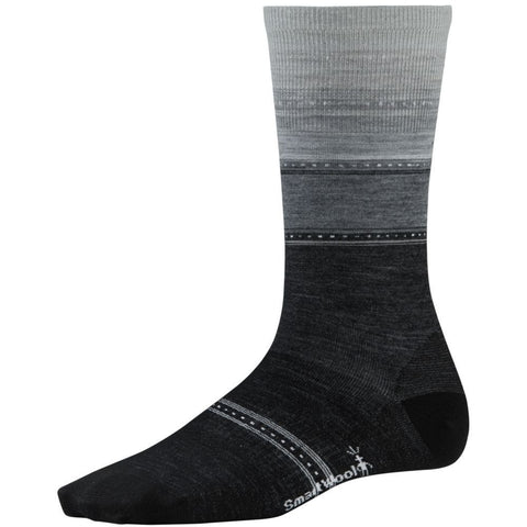 Smartwool Women's Sulawesi Stripe Socks Charcoal Heather