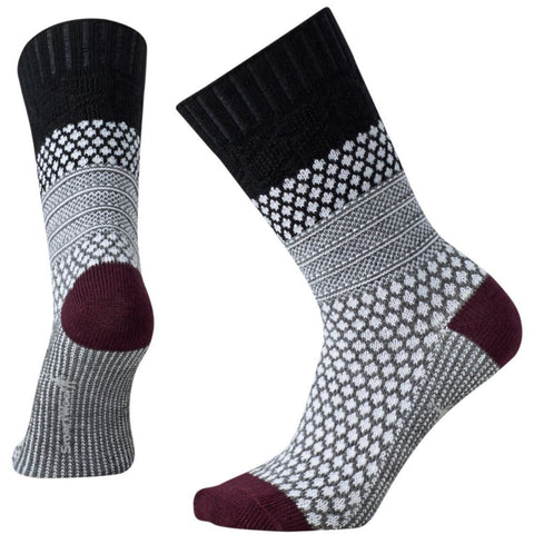 Smartwool Women's Popcorn Cable Socks Black