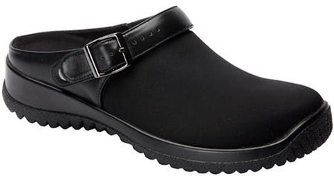 Drew Shoes Women's Savannah Shoes Black Stretch
