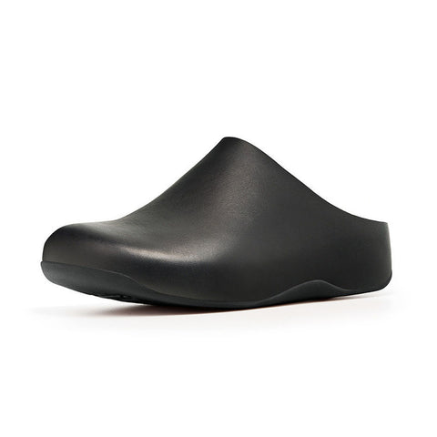 Fitflop Women's Shuv™ Leather Clogs Black