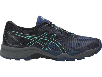 ASICS Women's GEL-Fujitrabuco™ 6 Running Shoe - Insignia Blue/Black/Ice Green