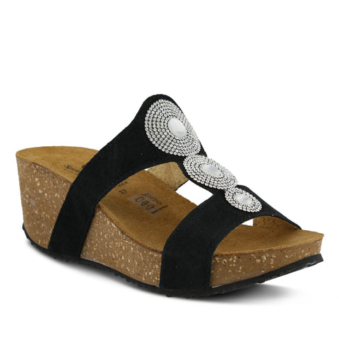 Spring Step Women's Tada Slide Sandal Black