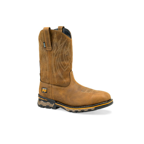 Timberland PRO Men's Ag Boss Pull-On Square Alloy Safety Toe Waterproof Boot