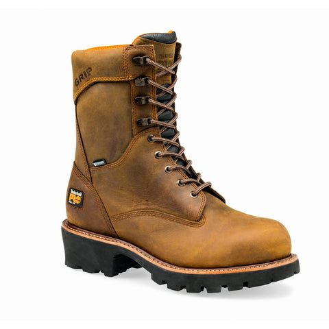 "Timberland PRO Men's 9"" Rip Saw Logger Steel Safety Toe Composite Boot"