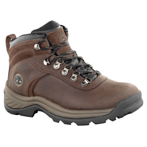 Timberland Womens Flume Mid Waterproof Boot Brown