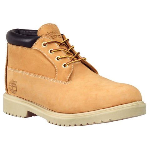Timberland Mens Icon Waterproof Chukka Boot Wheat Nubuck