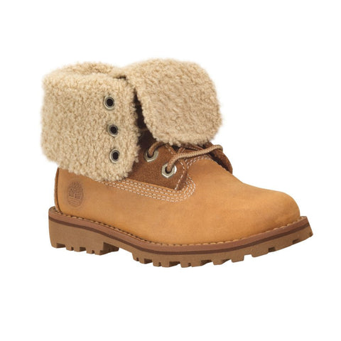 "Timberland Junior Authentics 6"" Waterproof Faux Shearling Boot"