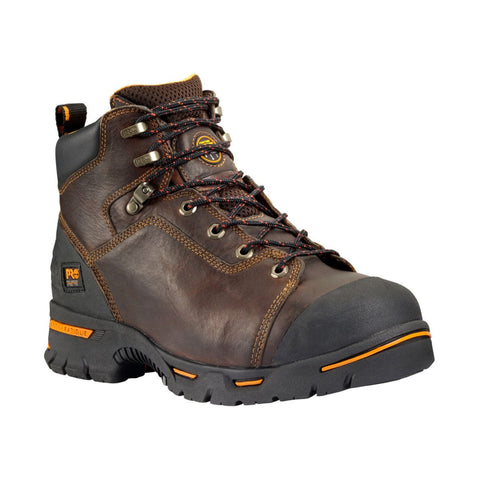 "Timberland PRO Men's 6"" Endurance PR Steel Safety Toe Boot Briar Brown"